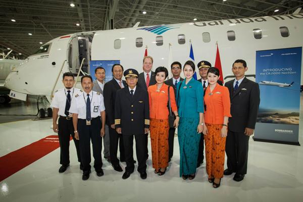 Garuda Indonesia set to debut CRJ1000 NextGen Aircraft in Asia-Pacific Region