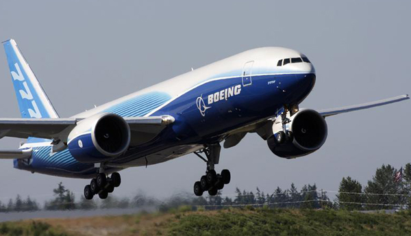 New rate is highest ever for a Boeing twin-aisle airplane-8.3 airplanes per month rate raises production by 20 percent